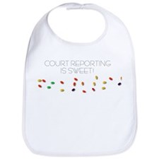 Court Reporting is sweet Bib