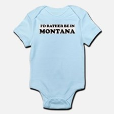 Rather be in Montana Infant Creeper