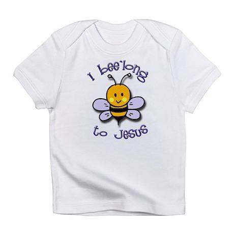 I Bee'long to Jesus (1) Creeper Infant T-Shirt