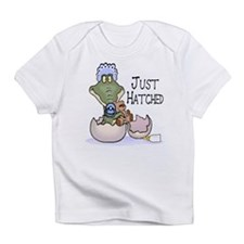 Just Hatched - Pink Creeper Infant T-Shirt