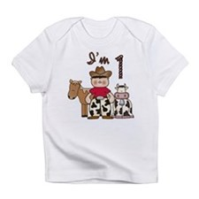 Cowboy First Birthday Infant T-Shirt