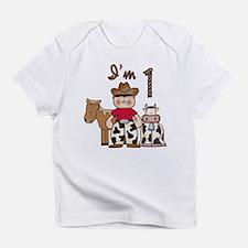 Cowboy First Birthday Infant T-Shirt