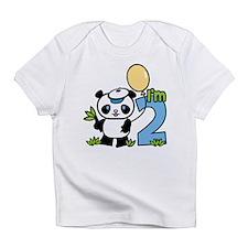 Lil' Panda Boy 2nd Birthday Infant T-Shirt