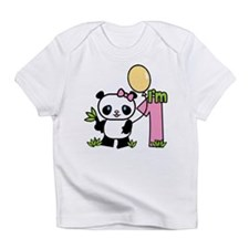 Lil' Panda Girl First Birthday Infant T-Shirt