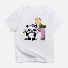 Lil' Panda Girl First Birthday Infant T-Shirt