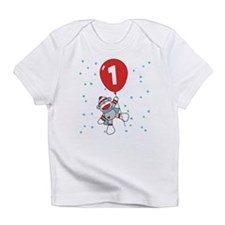 Sock Monkey 1st Birthday Infant T-Shirt