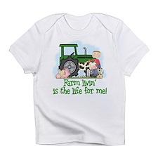 Farm Livin' (Boy) Infant T-Shirt