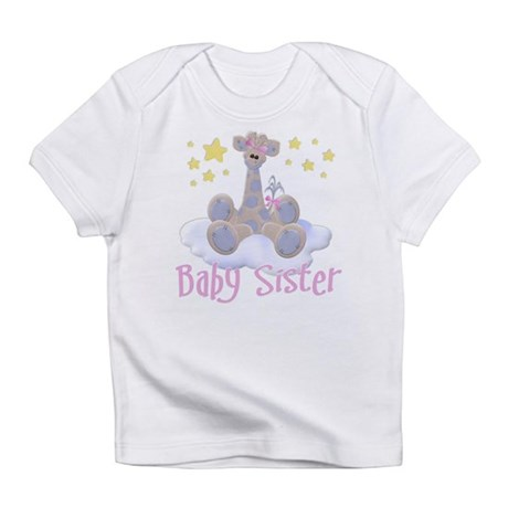 Baby Sister Giraffe Infant T-Shirt