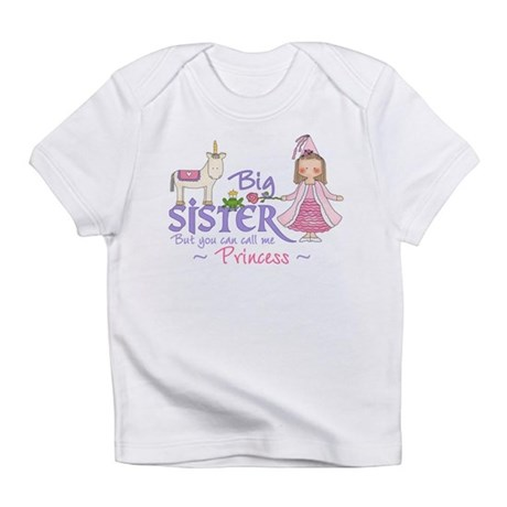 Unicorn Princess Big Sister Infant T-Shirt