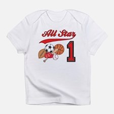 All-Star Sports First Birthday Infant T-Shirt