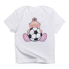 Lil Soccer Baby Girl Infant T-Shirt