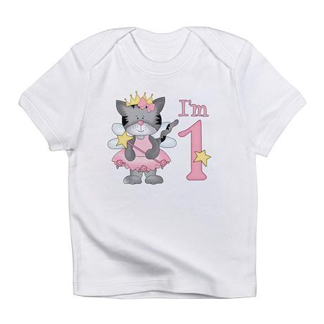 Kitty Princess First Birthday Infant T-Shirt