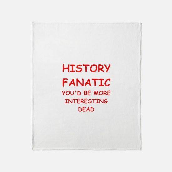 funny geek joke Throw Blanket