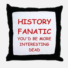 funny geek joke Throw Pillow