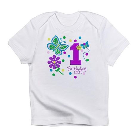 1st Birthday Girl Creeper Infant T-Shirt