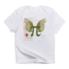 Winged Pi Infant T-Shirt