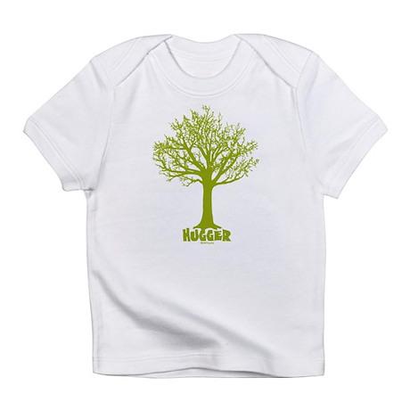 TREE hugger (lime) Infant T-Shirt