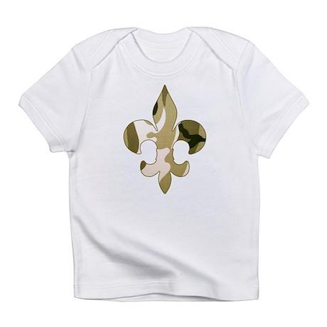 Fleur de lis Camo Infant T-Shirt