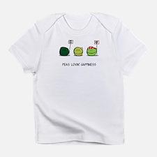 Peas Lovin' Happiness Creeper Infant T-Shirt