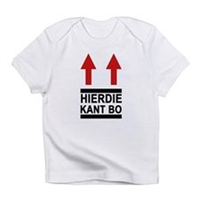 Hierdie Kant Bo Creeper Infant T-Shirt