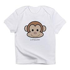I fling poo Infant T-Shirt