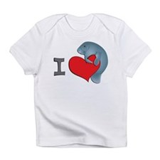 I heart manatees Infant T-Shirt