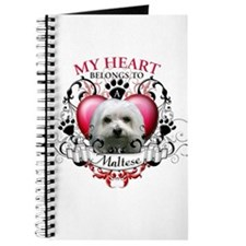 My Heart Belongs to a Maltese Journal