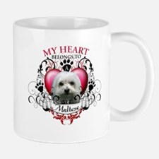 My Heart Belongs to a Maltese Mug