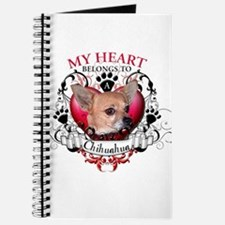 My Heart Belongs to a Chihuahua Journal