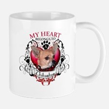 My Heart Belongs to a Chihuahua Mug