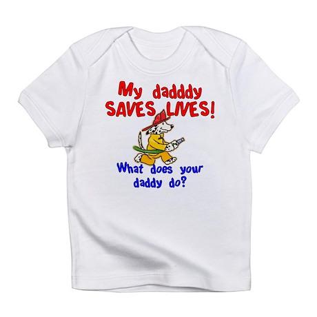 Fireman Daddy Infant T-Shirt