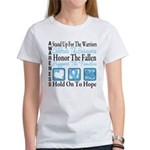 Prostate Cancer Stand Women's T-Shirt