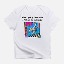 Airplane Pilot Grandpa Infant T-Shirt
