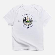 El Salvador Independence Creeper Infant T-Shirt