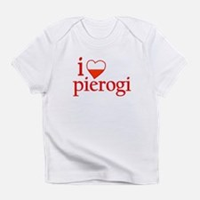 I Love Pierogi Infant T-Shirt