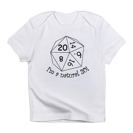 Natural 20! Creeper Infant T-Shirt