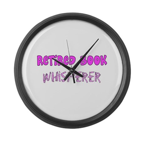 Professional Occupations Large Wall Clock