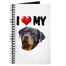 I Love My Rottweiler 2 Journal