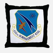 456th Bomb Wing Throw Pillow
