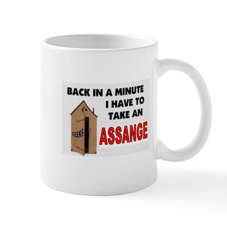 HE SMELLS BAD Mug