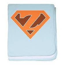 Super Grunge Z baby blanket