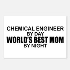 World's Best Mom - Chemical Eng Postcards (Package