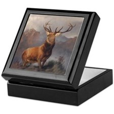 Cute Deer antlers Keepsake Box