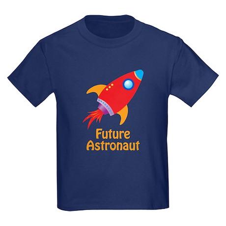 Future Astronaut Kids Dark T-Shirt