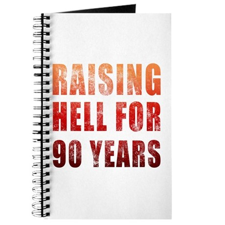 Raising Hell 90th Birthday Journal