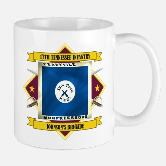 17th Tennessee Infantry Mug