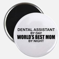 World's Best Mom - Dental Asst Magnet