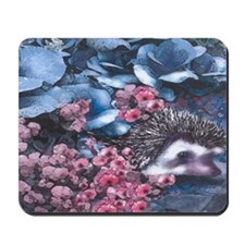 Blue Hedgehog Mousepad