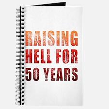 Raising Hell 50th Birthday Journal
