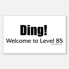 Ding! Welcome to Level 85 Decal